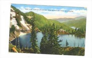Deep Lake, Cascade Mountains, Snoqualmie Pass, Washington, 30-40s