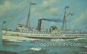 Joy Line Larchmont, Providence, Rhode Island, RI USA Steam Ship Unused