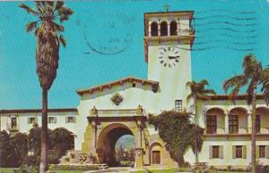 California Santa Barbara County Court House 1969