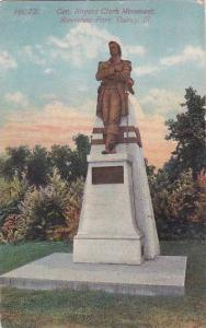 Illinois Quincy Gen Rogers Clark Monument Riverview Park