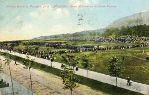 Canada - Quebec, Montreal. Fletcher's Field, Military Review