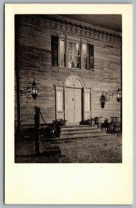 Postcard Winterthur DE c1960s North Facade in Court Montmorenci Henderson NC
