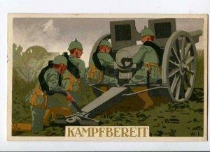 275775 Avant-Garde WWI Germany PROPAGANDA Cannon by W.I. old