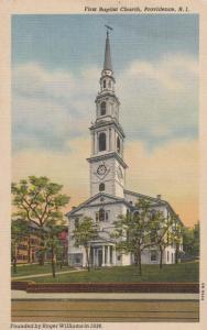 First Baptist Church - Providence RI, Rhode Island - Linen