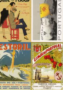 Portugal Alcohol Music Swimming 4x Advertising Poster Postcard s