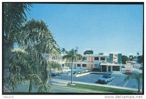 Florida Motel Downtown Sarasota FL Travelodge Travel Lodge 60s Postcard