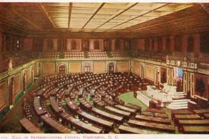 DC - Washington, Hall of Representatives, Capitol