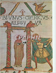 Modern Postcard Bayeux (Calvados) This so-called Conquest of the Tapestry of ...