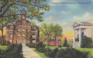Exterior,  Johnson C. Smith University,  Charlotte,  North Carolina,  PU_1944
