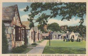 Route '66' ; Nelson Dream Village , LEBANON , Missouri , 1937
