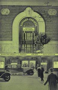 Johnson Over Johnson Saville Theatre Edna Best Drama WW2 Programme