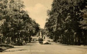 CT - Meriden.  The Boulevard, Broad Street