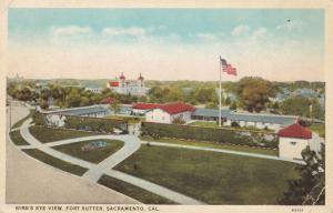 SACRAMENTO, California; Bird's Eye View, Fort Sutter, 1910-20s