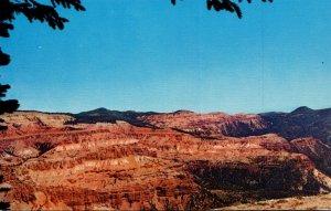 Utah Cedra Breaks National Monument Colorful Cedar Breaks