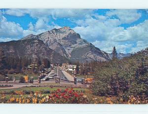 Pre-1980 TOWN VIEW SCENE Banff Alberta AB p9340