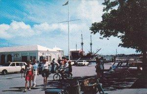 BERMUDA; Town Square, St. George, 1940-60s