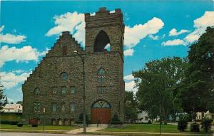 Endicott New York~The Union Presbyterian Church~1950s Postcard