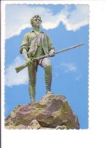 Minuteman Statue, Lexington Green, Massachusetts,