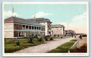 Postcard FL Palm Beach Casino Breakers & Cottages 1904 Detroit Publishing L18