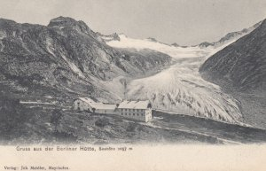 Gruss aus der Berliner Hutte , Tirol , Austria , 00-10s