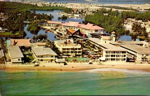 Florida Miami Beach Aerial View Of The Fabulous Castaways Motel