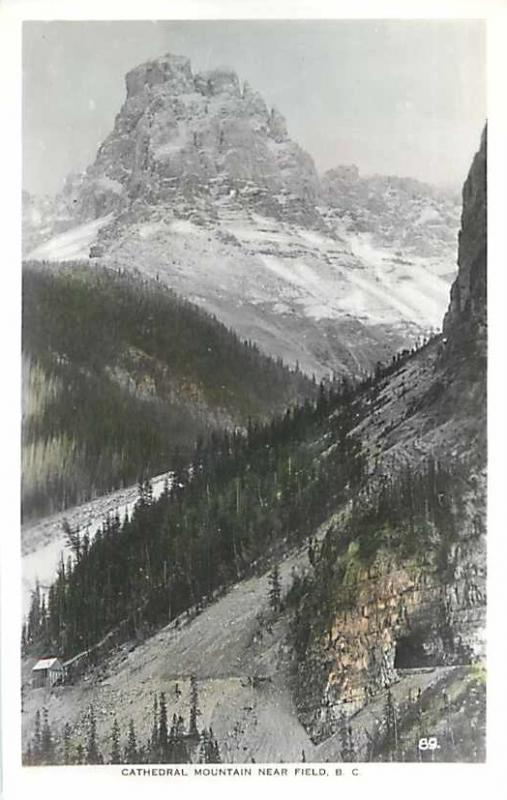 RPPC of Cathedral Mountain near Field British Columbia BC
