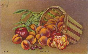 Still Life Basket Of Fruit