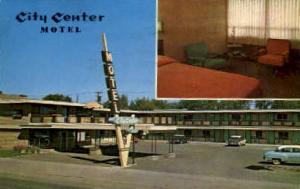 City Center Motel Bozeman MT 1967