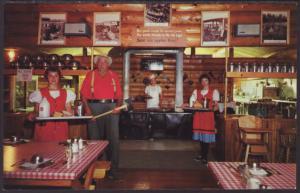 Paul Bunyan Logging Camp,Wisconsin Dells,WI Postcard