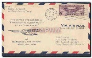 Letter USA Tennessee & # 39s Sky Harbor April 15, 1930 Nashville