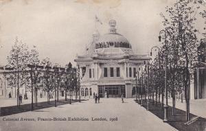 Colonial Avenue , Franco-British Exhibition , London , England , PU-1908