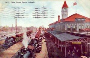1910 UNION STATION, DENVER, CO.