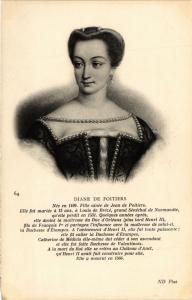 CPA Diane de Poitiers Royalty Nobelty (315168)