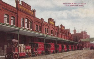 ST. LOUIS , Missouri, 1901-07 ; ANHEUSER-BUSCH , City Delivery Dep'T.