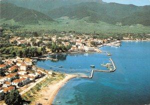 B110611 Greece Thasos Panorama of the Port Bateaux Panorama Harbour