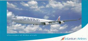 Srilankan Airlines Airbus Airplane , 80-90s