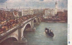 LONDON, England, 1900-1910s;London Bridge ; TUCK 770