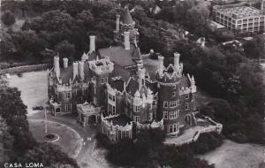 RP, Casa Loma, Aerial View From The North Of Casa Loma, Toronto, Ontario, Can...