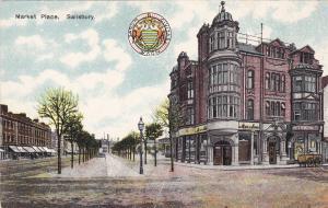 SALISBURY, Wiltshire, England, United Kingdom; Market Place, 00-10s