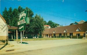 Corbin KY~Holiday Motel & Restaurant~1960s Postcard Holton-Cavins
