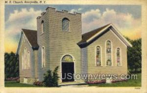 M.E. Church Barryville NY Unused