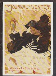 Journel Des Ventes Reproduction Postcard BIN