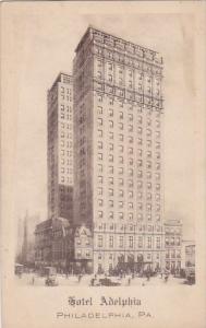 Pennsylvania Philadelphia Hotel Adelphia 1916