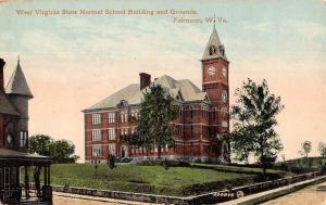 Fairmount West Virginia State Normal School Antique Postcard KA688835