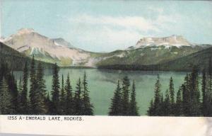 Scenic view, Emerald Lake, Rockies, Alberta,  Canada, 00-10s