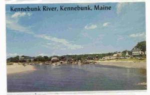 Some of the Fishing Fleet is seen in the River of Kennebunk, Maine, 40-60s