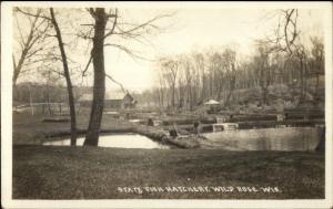 Wild Rose WI State Fish Hatchery c1910 Real Photo Postcard