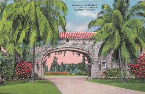 Grenada Entrance to Coral Gables Florida