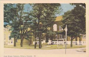 High School, Coburg, Ontario, Canada, 10-20s