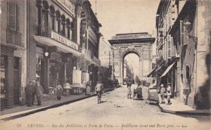 NEVERS, Nievre, France, 1900-1910's; Rue des Ardillieres et Porte de Paris